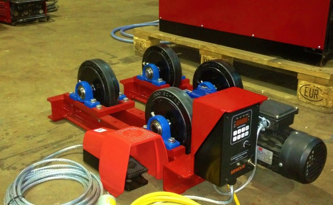1 tonne pipe rotators long frame 1