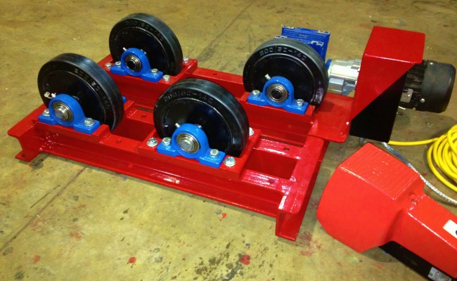 1 tonne pipe rotators long frame 3