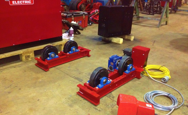 1 tonne pipe rotators long frame 4