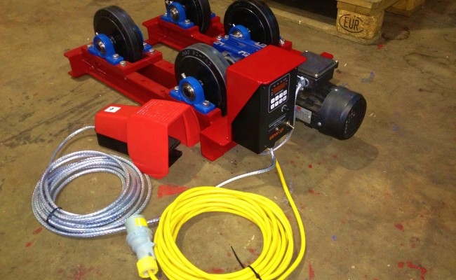 1 tonne pipe rotators long frame 8