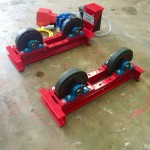 1. 1 Tonne Pipe Rotators 110V, Brand New with Foot Pedal