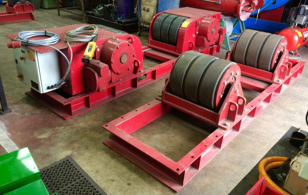 100 Tonne Conventional Welding Rotators