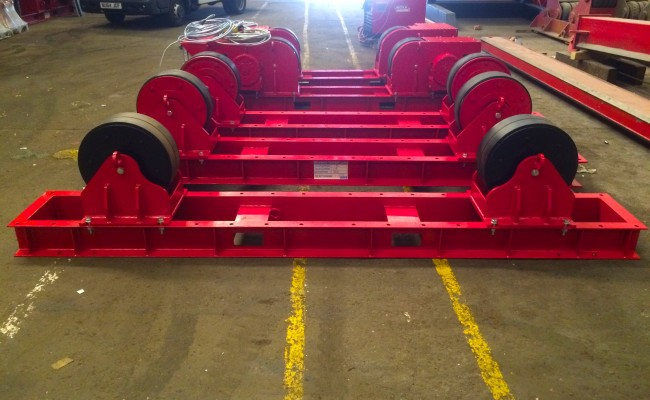 1. 30 Tonne Conventional Welding Rotators