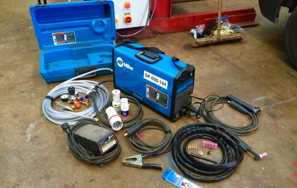 Miller Dynasty 200 DX AC/DC TIG Welding Machine