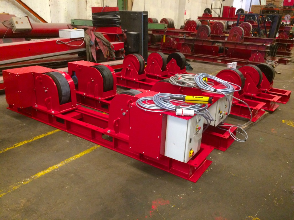 10. 30 Tonne Conventional Welding Rotators