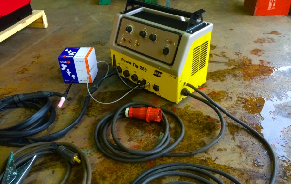 ESAB Power Tig 255 Air Cooled TIG Welding Machine
