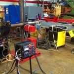 2 x 1.5 column and boom welding manipulator with DC 1000 11