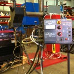 2 x 1.5 column and boom welding manipulator with DC 1000 3