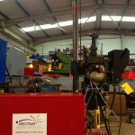 2 x 1.5 column and boom welding manipulator with DC 1000 4