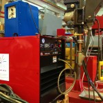 2 x 1.5 column and boom welding manipulator with DC 1000 5