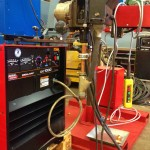 2 x 1.5 column and boom welding manipulator with DC 1000 6