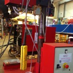 2 x 1.5 column and boom welding manipulator with DC 1000 9