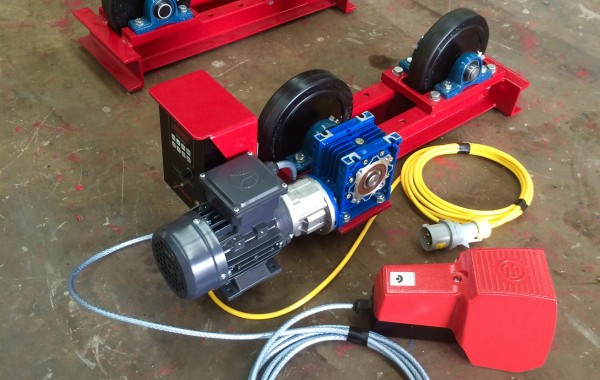 1 Tonne Long Frame Pipe Rotators with Foot Pedal and Manufactured In-House