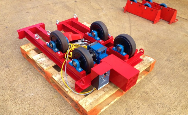2.5 Tonne Conventional Welding Rotators 2