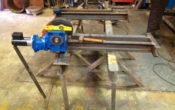 In-House Manufactured 2.5 Tonne Conventional Welding Rotators Build Process