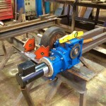 2.5 Tonne Welding Rotators build process 3
