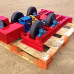 2.5 Tonne Welding Rotators build process 5