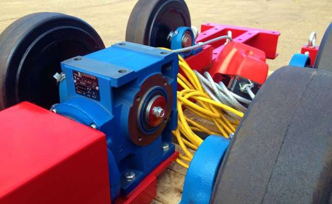 2.5 Tonne Welding Rotators build process 6