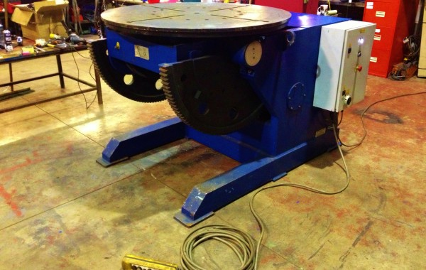 3 Tonne Welding Positioner