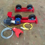 3. 1 Tonne Pipe Rotators 110V, Brand New with Foot Pedal