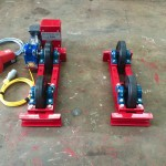 5. 1 Tonne Pipe Rotators 110V, Brand New with Foot Pedal