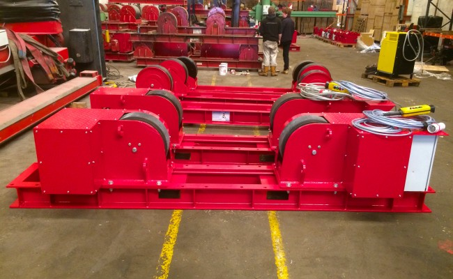 5. 30 Tonne Conventional Welding Rotators