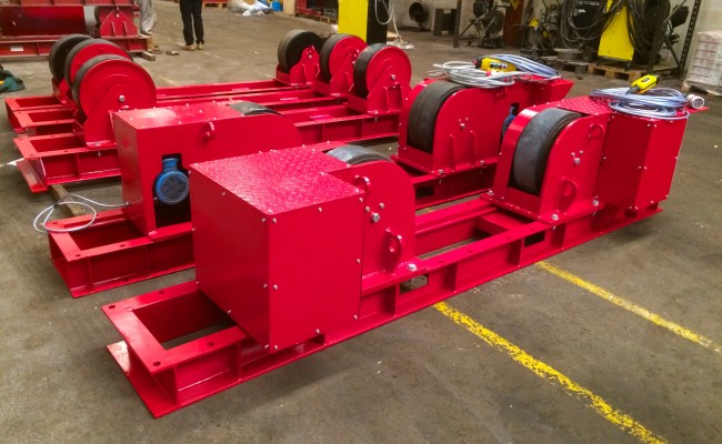 6. 30 Tonne Conventional Welding Rotators