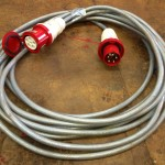 64amp 5pin 3 phase 415v 15meter extension lead