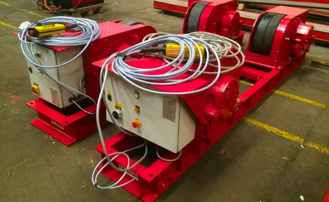 8. 30 Tonne Conventional Welding Rotators