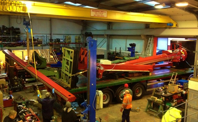 BODE 5 x 5 Column and Boom 2