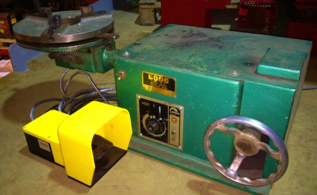 BODE 50kg Bench Top Welding Positioners 1