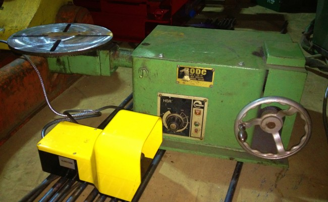 BODE 50kg Bench Top Welding Positioners 3
