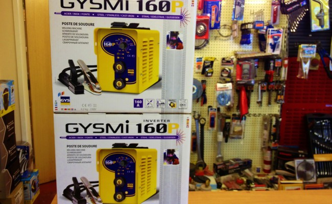 GYSMi 160 Stick Inverter Welder 4