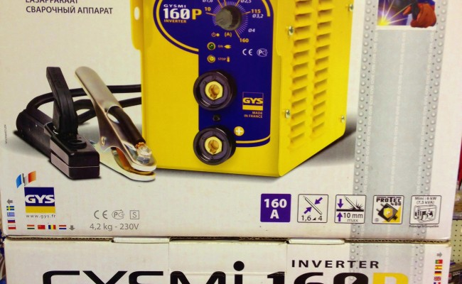 GYSMi 160 Stick Inverter Welder 5