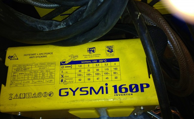 GYSMi 160 Stick Inverter Welder 8