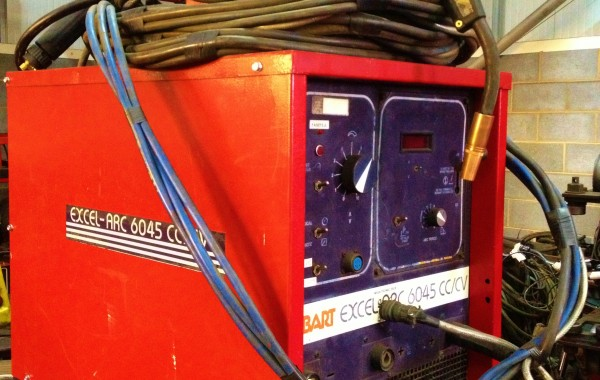 Hobart Excel Arc 6045 MIG Welding Machine with Tweco No. 5 Welding Torch
