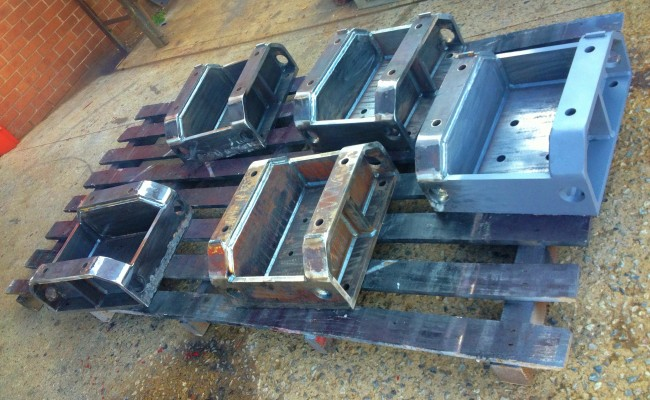 Manufacturing 30 Tonne Welding Rotators 1