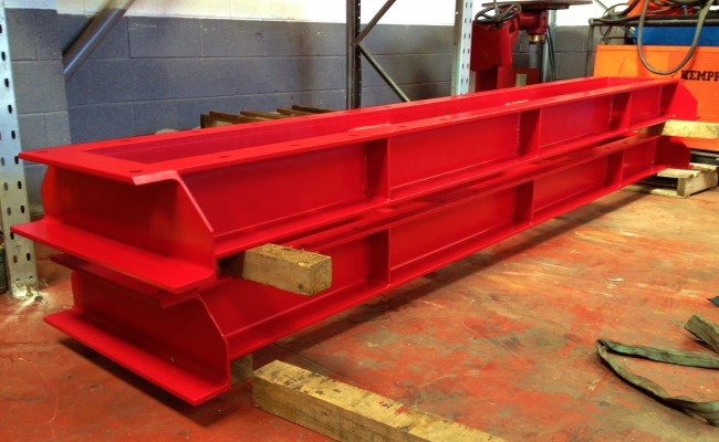 Manufacturing 30 Tonne Welding Rotators 3
