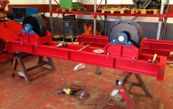 In-House Manufactured 30 Tonne Conventional Welding Rotators