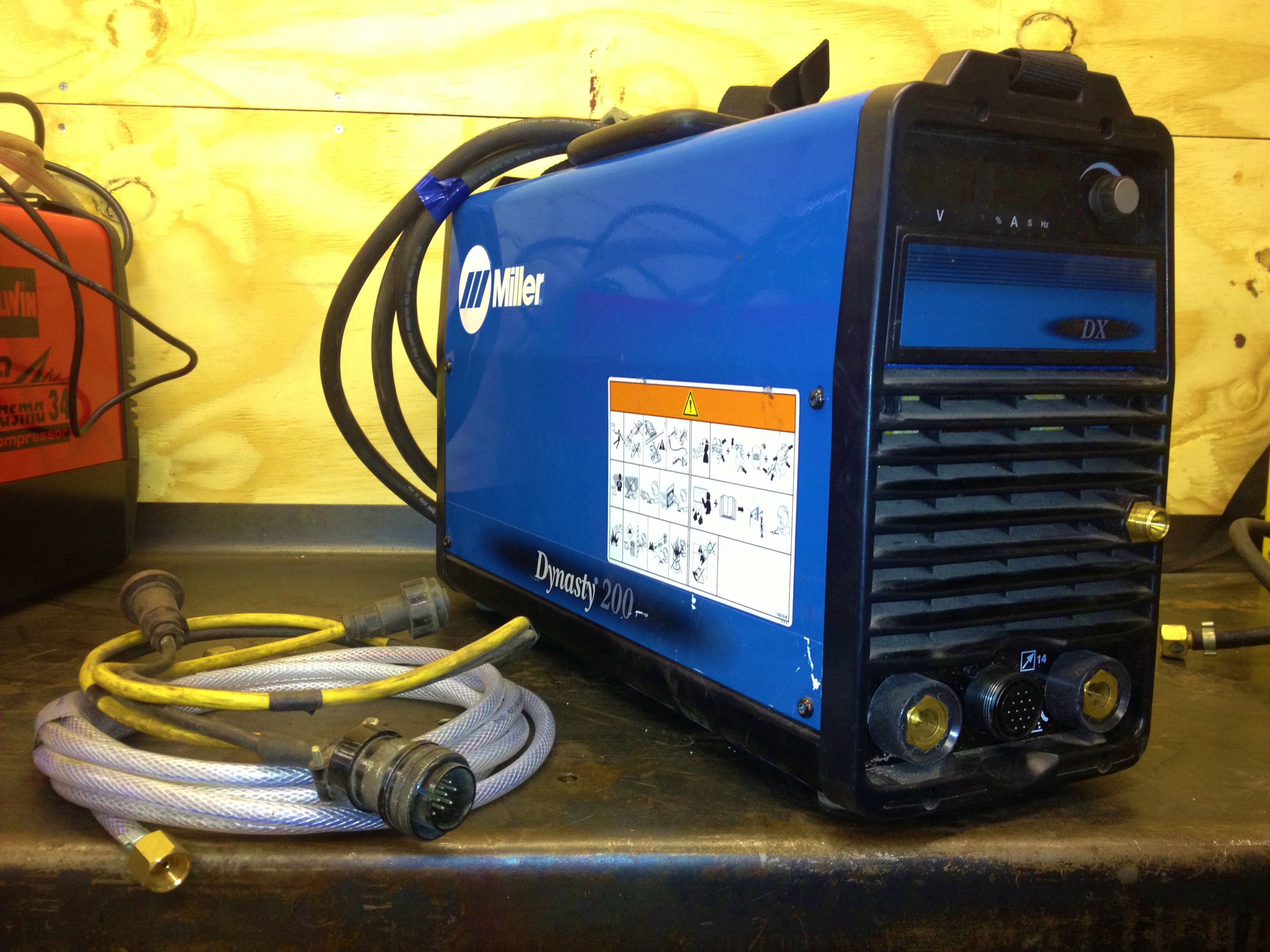 Miller Dynasty 200 Dx Ac Dc Tig Welding Machine Syncrowave Wiring Diagram 1