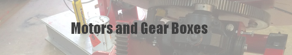Motors and Gear Boxes
