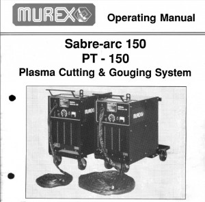 Murex Sabre-arc 150 Operating Manual