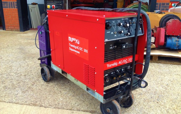 Murex Transtig AC/DC 355 Squarewave Water Cooled TIG Welding Machine