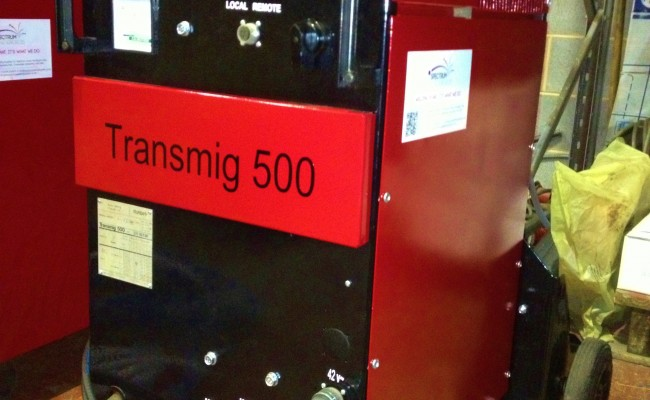 Transmig 500 with Parweld water cooler 4