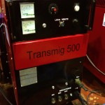 Transmig 500 with Parweld water cooler 8