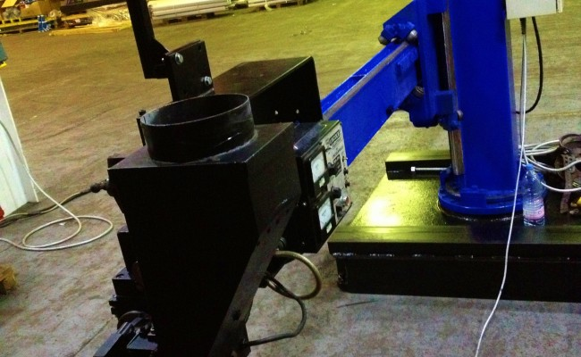 BODE 3 x 3 Column and Boom Welding Manipulator 16