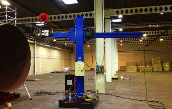 BODE 3 m x 3 m Column and Boom Welding Manipulator with NA-3N Controller