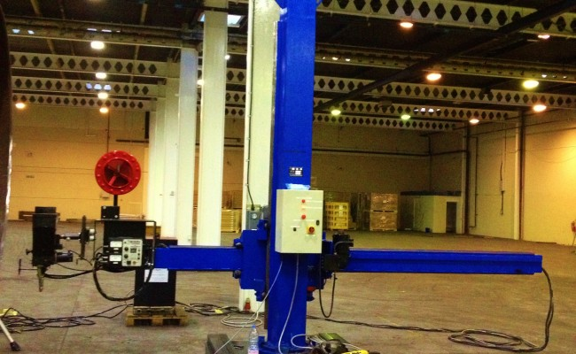 BODE 3 x 3 Column and Boom Welding Manipulator 6
