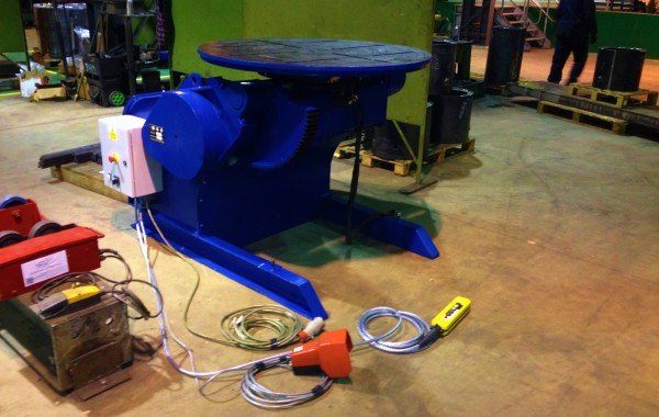 BODE 3 Tonne Welding Positioner Reconditioned