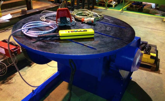 BODE 3 Tonne Welding Positioner reconditioned 6